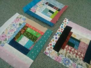 Wonky squares